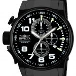Invicta I-Force Quartz Watch – Black case with Black tone Stainless Steel band – Model 90063