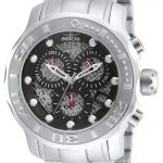 Invicta Pro Diver Quartz Watch – Stainless Steel case Stainless Steel band – Model 90073