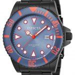 Invicta Pro Diver Men's Quartz 44mm Black Case Greyish Blue Dial – Model 90300