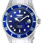 Invicta Pro Diver Quartz Watch – Stainless Steel case Stainless Steel band – Model 9204OB