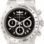 Invicta Speedway Quartz Watch – Stainless Steel case Stainless Steel band – Model 9223