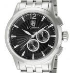 S. Coifman Swiss Movement Quartz Watch – Stainless Steel case Stainless Steel band – Model SC0268