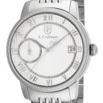 S. Coifman Swiss Movement Quartz Watch – Stainless Steel case Stainless Steel band – Model SC0336