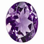 Loose Amethyst Gemstone 5x3mm Oval AAA Quality