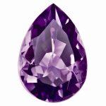 Loose Amethyst Gemstone 9x6mm Pear AA Quality