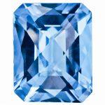 Loose Blue Topaz Gemstone 10x8mm Octagon Checkerboard AA Quality