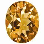 Loose Citrine Gemstone 7x5mm Oval AA Quality
