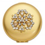 Crystal Compact – Engravable Personalized Gift Item