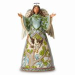Jim Shore Angel With Owl Figurine