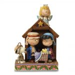 Peanuts Jim Shore Charlie Brown And Lucy Christmas Pageant Figurine