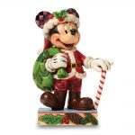 Disney Traditions Jim Shore Christmas Mickey Figurine