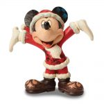 Disney Traditions Jim Shore Ta Da Santa Mickey Figurine