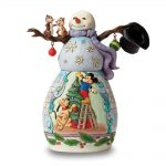 Disney Traditions Jim Shore Plutos Christmas Snowman Figurine
