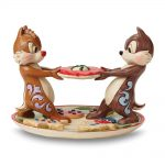 Disney Traditions Jim Shore Chip & Dale Cookie Plate Figurine