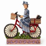 Wizard Of Oz Jim Shore Mrs Gulch On Bike Figurine