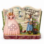 Wizard Of Oz Jim Shore House On Witch Story Book Figurine