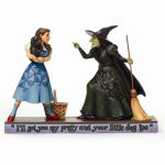 Wizard Of Oz Jim Shore Ill Get You Dorothy And Witch Figurine
