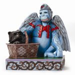 Wizard Of Oz Jim Shore Winged Monkey With Toto Figurine