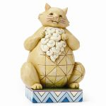Jim Shore Lazy Cat Figurine