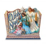 Jim Shore O Holy Night Song Book Angel Figurine