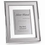 Silver Tone with Matting Frame – Engravable Personalized Gift Item
