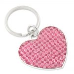 Glitter Heart Key Ring – Engravable Personalized Gift Item