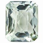 Loose Green Quartz Gemstone 7x5mm Oct Checkerboard AA Quality