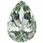 Loose Green Quartz Gemstone 9x6mm Pear AA Quality