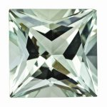 Loose Green Quartz Gemstone 5mm Princess AA Quality