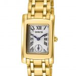 Invicta Angel Swiss Movement Quartz Watch – Gold case with Gold tone Stainless Steel band – Model 15624