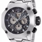 Invicta S1 Rally Quartz Watch – Black, Stainless Steel case Stainless Steel band – Model 19428