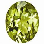Loose Peridot Gemstone 4x3mm Oval AA Quality