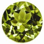 Loose Peridot Gemstone 5mm Round AA Quality