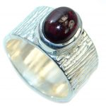 Simply Perfect genuine Tourmaline Sterling Silver Ring s. 8