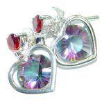 True Passion Topaz .925 Sterling Silver handcrafted earrings