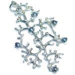 Ocean Reef Black Pearl .925 Sterling Silver handmade pendant