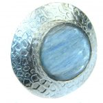 Authentic Australian Blue Kyanite .925 Sterling Silver handmade Ring s. 7 1/4