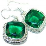 Just Perfect Aqua Quartz .925 Sterling Silver earrings