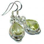 Cubic Zirconia .925 Sterling Silver earrings
