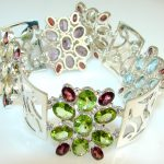 Sweet Passion Multigem Sterling Silver Bracelet