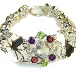 My Lovely Multigem Sterling Silver Bracelet