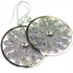 Precious Silver Sterling Silver earrings