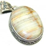 Instant Classic Agate Sterling Silver Pendant