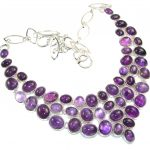 Purple Spell!! Amethyst Sterling Silver necklace