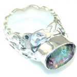 Tropical Magic Topaz Sterling Silver ring; s. 8