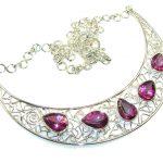 Fabulous Design Of Purple Mystic Topaz Sterling Silver necklace