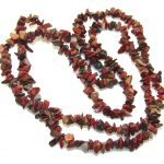 Natural Beauty!! Red Jasper Necklace