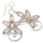 Delicate Light Purple Amethyst Sterling Silver earrings