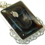 Magic Style Of Agate Sterling Silver pendant
