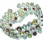 Aura Of Beauty Multigem Sterling Silver Bracelet